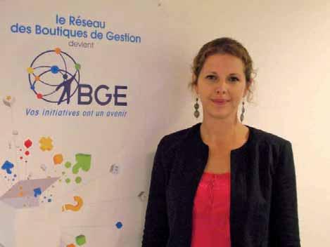 Christelle Carré est responsable formation à BGE Somme.