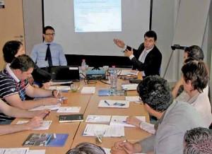Les deux avocats d'affaires parisiens Emmanuel Cohen et Simon Azan ont animé une conférence riche d'enseignements sur la stratégie de levée de fonds.