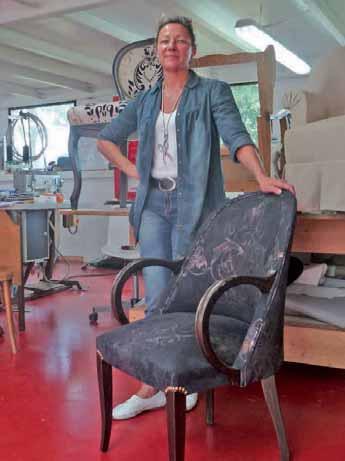 Sylvie Sébastien croit en son projet et reste positive depuis la création de son entreprise.
