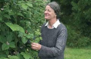 Marie-Pierre Gruson et son mari Ferdinand Lapersonne possède aujourd'hui un verger de fruits rouges de sept hectares.