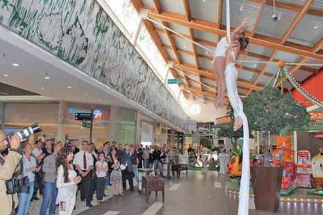 Une galerie commerciale new look bâtie selon les nouvelles règles environnementales.
