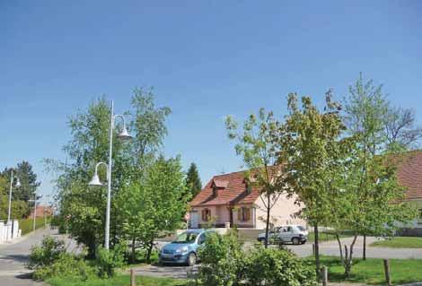 A Bernaville, l'aménagement d'un lotissement a été envisagé dans son ensemble pour permettre une meilleure intégration dans le paysage et faciliter l'arrivée des nouveaux habitants dans la commune.