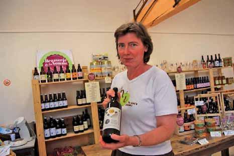 Marie-Laure Marié lance une nouvelle gamme de bières.
