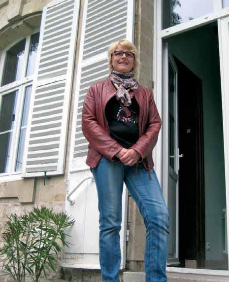 Hélène Deffontaines veut redonner vie au château de Naours en accueillant les entreprises et leurs événements.