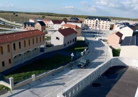 Jeoffrécourt est une ville d'entraînement dont la population serait de 5 000 habitants.