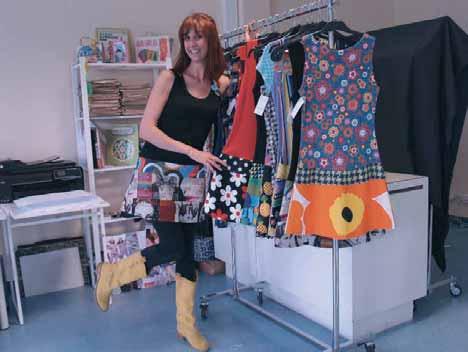Dorothée Ossart délaissera les tissus qu'elle achète pour présenter ses produits avec des tissus imprimés dès début 2013.