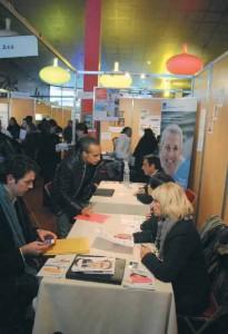 L'année dernière, plus de 2 500 personnes étaient venus aux 24 heures pour l'emploi d'Amiens.