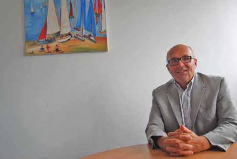 Eric Denis a été élu président du club Vocation entreprise d'Amiens