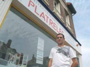 Sébastien Licette espère offrir un maximum de produits et services à ses clients dès son ouverture.