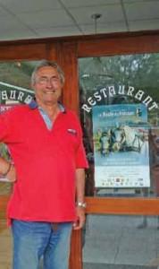 Allain Houard, organisateur de la Route du Poisson.