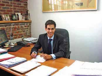 Nabil Achik a créé son cabinet en avril et compte se faire un nom.