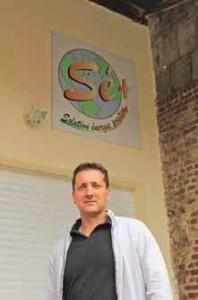Fabrice Tournon prend son temps pour faire croître une entreprise qui s'occupe également du SAV pour le matériel de certains constructeurs.