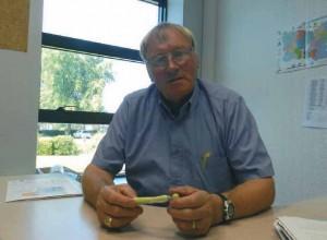 Jean-Pierre Heu est le vice-président de la communauté de communes de la Picardie verte en charge de l'économie et du développement durable.