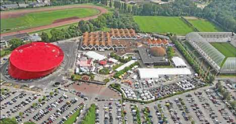 Le Zénith, Mégacité, l'hippodrome et le Stade de la Licorne vont être mis à contribution pendant les trois jours du congrès.