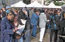 Une foule impressionnante pour le premier Forum des agences d'emploi.