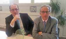 Alexandre Petit et Robert Théot ont reçu une récompense au premier semestre pour la plus grosse affaire signé pour VDOC.