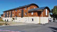 Le bois donne son nom au Bateau, résidence qui abrite 36 chambres.