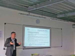 Philippe Delavier, de l'Urisp, présente l'enquête nationale 2012 sur les ingénieurs.