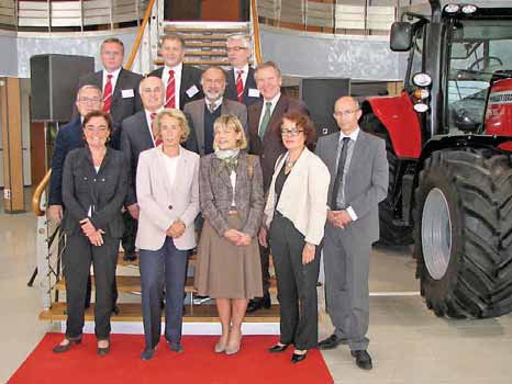 Les collectivités territoriales et l'Etat ont activement accompagné AGCO-Massey Ferguson dans le projet Beauvais 2.