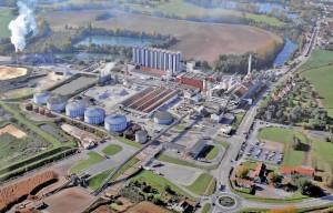 L'usine de Bucy-le-Long.