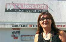 Chantal Briatte dirige deux magasins, l'un à Saint-Quentin, l'autre à Amiens, qui emploient huit salariés.