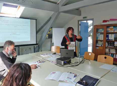 Dominique Pillon a présenté le dossier Créa Somme , un outil pédagogique.