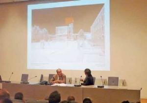 Paul Vincent, de Renzo Piano Building Workshop, présente le projet de la Citadelle.