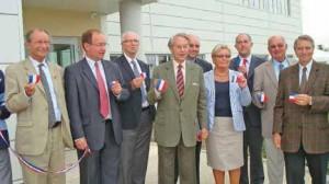 L'inauguration des nouveaux locaux s'est déroulé en présence d'élus locaux et des dirigeants de l'entreprise Desmarez.
