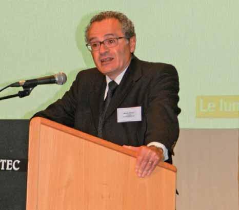 Michel Hirsch, président de l'Unicem.