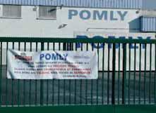 Pomly est une usine du groupe Andros qui fabrique des yaourts.