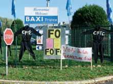 Le fabriquant de chaudières Baxi France fermera sa grande usine soissonnaise d'ici à 2014.