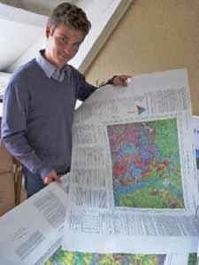Antoine Phelippeau est l'ingénieur chargé de la réalisation de Cantia-Sol à la chambre d'agriculture de l'Aisne.