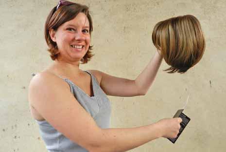 Pour Jennifer Dubois, les perruques ont bien changé.