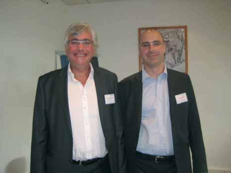 François Carlier, président de la chambre professionnelle du conseil de Picardie, et Laurent Jeanson, administrateur.