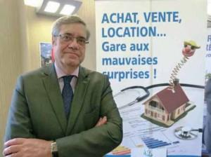 Bernard Ferrand, président de la Chambre des notaires de l'Aisne.
