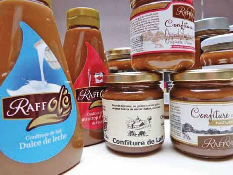 La coopérative Laitnaa approvisionne la Franco-Argentine de Sains-Richaumont qui fabrique de la confiture de lait.