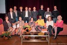 Le lancement du Mois de l'ESS a été l'occasion de récompenser les lauréats des concours Talents et Talents des cités.