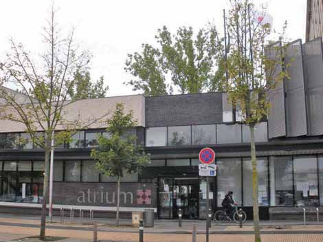 C'est devant l'Atrium que François Lamy a évoqué pour la première fois les emplois francs.