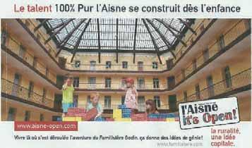 La campagne s'affiche aussi dans la grande presse nationale, comme ici dans L'Express.