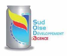 Le logo de Sud-Oise développement agence.