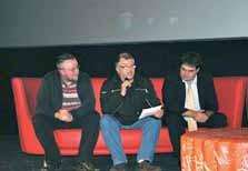 Philippe Bailly, chef de service, Michel Boufflers, bénéficiaire VAE, et Nicolas Bordet, directeur du travail protégé et adapté Epsoms Nicolas- Roussel & Georges-Couthon.
