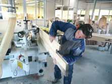 Les métiers du bois sont une activité des Ateliers d'Ascalon.