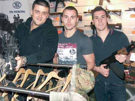 (de g. à d.) Marc-Antoine, Aurélien et Renaud, trois associés plein d'idées.