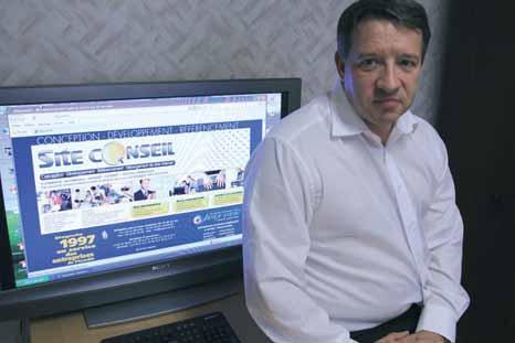 Philippe Legrand et ses cinq employés assurent un travail de veille technologique permanent pour faire évoluer l'entreprise.