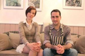 Alice Gombart et Dimtri Lagier, heureux restaurateurs du Comptoir Bleu.