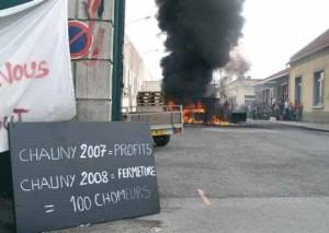 Les fermetures de sites industriels – ici Essex à Chauny en 2008 – et la faible qualification rendent le nord de l'Aisne peu attractif.