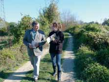 Dominique Molet et Mylène Eschemann ont patiemment élaboré un ouvrage de référence sur les chemins ruraux.