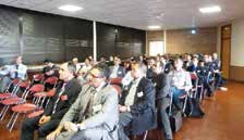 Les participants de cette journée ont pu échanger sur leurs expériences et rencontrer d'éventuels partenaires.