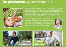www.somme-produitslocaux.fr est accessible aux agriculteurs, producteurs et acheteurs professionnels.