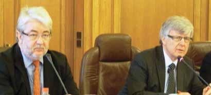 Jean-Jacques Thomas (à g.) et Yves Daudigny (à d.) ont réussi à faire voter le déblocage d'une provision de 1,2 M€.